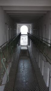Couloir central de la prison de Sighet